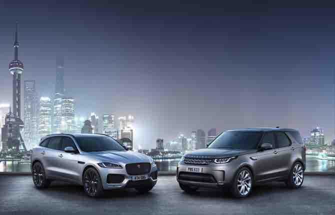 CES 2018, Jaguar Land Rover, dall'auto elettrica alle vetture che parlano fra loro
