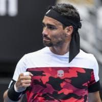 Tennis: Fognini in semifinale a Sydney, Medvedev elimina Lorenzi