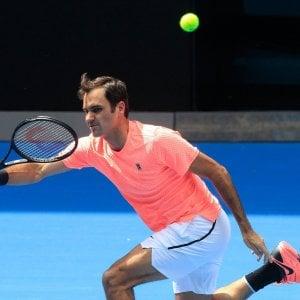 Australian Open: Djokovic e Zverev sul cammino di Federer, sei italiani al via