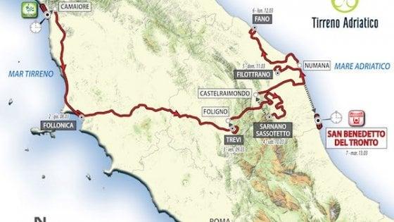 Ciclismo, Tirreno-Adriatico nel ricordo di Scarponi: un traguardo di tappa a Filottrano