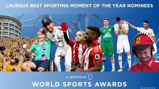 Laureus World Sports Awards, i migliori 5 momenti dell'anno