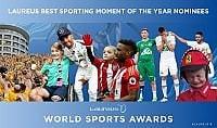 Laureus World Sports Awards, i migliori 5 momenti dell'anno