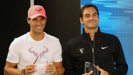 """Tennis, l'Australian Open dei grandi rientri. Nadal: """"Zero match ufficiali ma ora sto bene"""""""