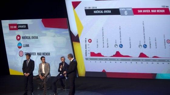 Ciclismo, tanti arrivi in salita e poca crono: ecco la Vuelta 2018