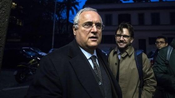 Elezioni FIGC, De Laurentiis con Lotito: L'unico che può tutelarci