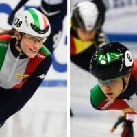 Europei, short track: doppio oro per Valcepina, Fontana d'argento