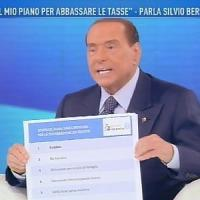 """Berlusconi: """"Mezzo milione di migranti in Italia per delinquere. Recupereremo 40 miliardi..."""