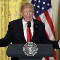 """Trump si difende: """"Credetemi, non sono un razzista. Con la Corea discussioni importanti in..."""