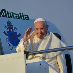 """Il Papa: """"Siamo al limite, ho paura di una guerra nucleare"""""""