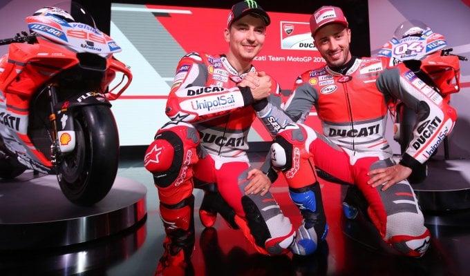 """MotoGp, Ducati svela la nuova Desmosedici: """"L'obiettivo è il titolo iridato"""""""
