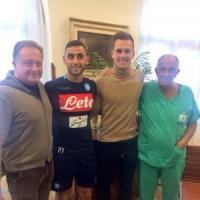 Napoli, Sarri può sorridere: Ghoulam e Milik tornano in squadra
