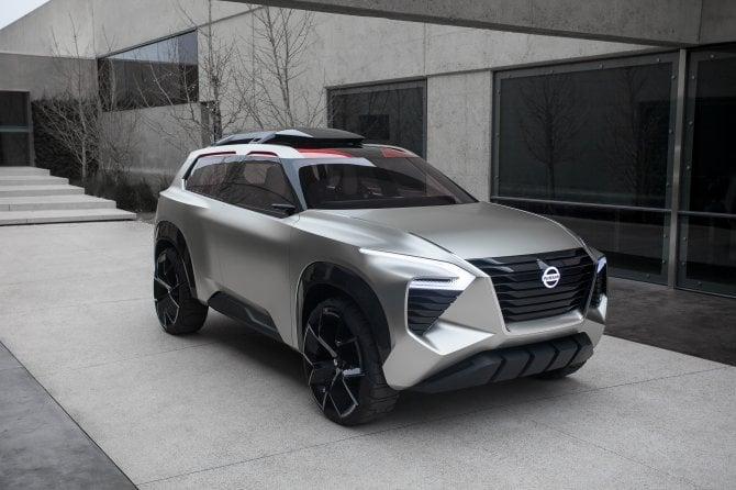 Nissan svela il concept Xmotion al Salone dell'Automobile di Detroit 2018