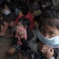 Filippine, eruzione del Monte Mayon: allerta del 3° livello su 5 per i