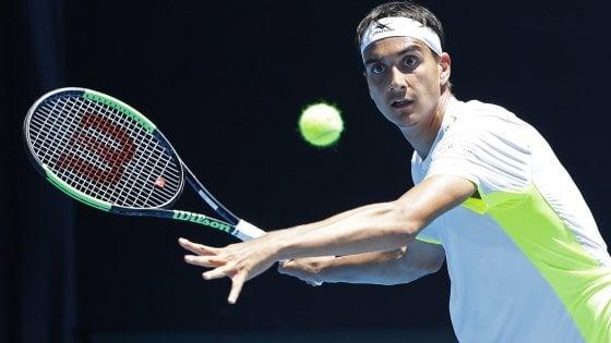 Tennis, Australian Open: sorpresa Sonego, avanti anche Fognini e Giorgi. Federer e Djokovic, esordio ok