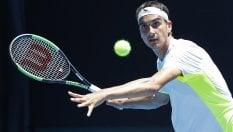 Sorpresa Sonego, avanti anche Fognini e Giorgi. Federer e Djokovic, esordio ok
