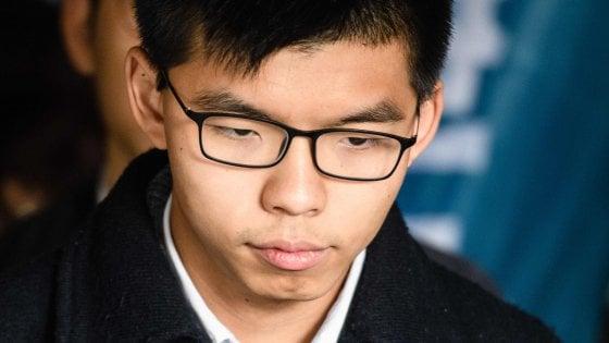 Hong Kong, nuova condanna per il leader della protesta degli ombrelli