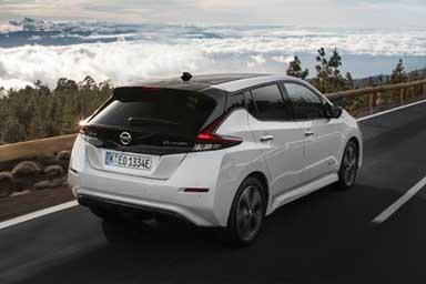 Nuova Nissan Leaf, l'evoluzione continua