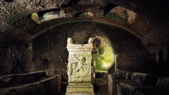Sulle tracce di Mitra nel cuore fulminato di Roma