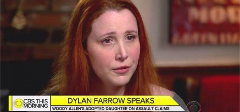 """Dylan Farrow accusa il padre in tv: """"La mia verità su Woody Allen"""""""