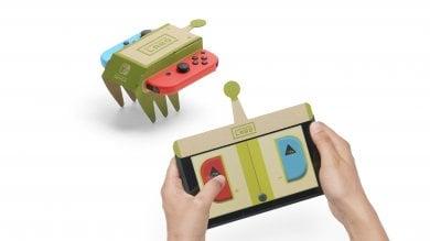 La Nintendo torna alle origini. Ecco Labo, i giocattoli ibridi fatti di cartone