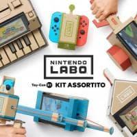 La Nintendo torna alle origini. Ecco Labo, i giocattoli ibridi fatti di