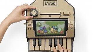 Altro che videogame, ecco Labo: i giocattoli sono fatti di cartone