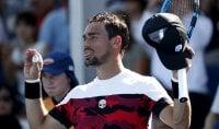 Fognini c'è, Giorgi fuori Federer-Djokovic avanti