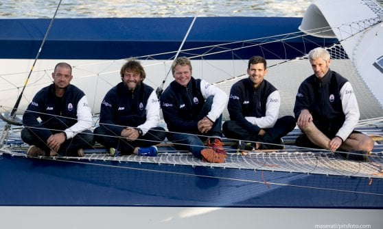 """""""Siamo partiti!"""": capitan Soldini alla sfida del record dei tre oceani"""
