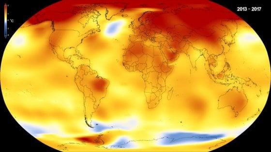 Il 2017 è stato il secondo anno più caldo della storia