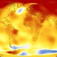 Clima: il 2017 uno dei tre anni più caldi dal 1880