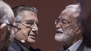 """Scalfari: """"La mia non è vanità e De Benedetti non ha fondato questo giornale"""""""
