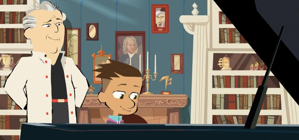 """Daniel Barenboim diventa cartoon: """"Così spiego ai bambini la bellezza della musica"""""""