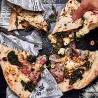 La pizza con il