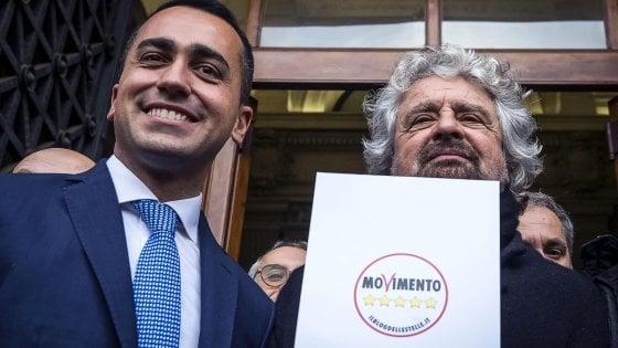 """Grillo e Di Maio firmano un post insieme per smentire frattura: """"No alleanze"""""""