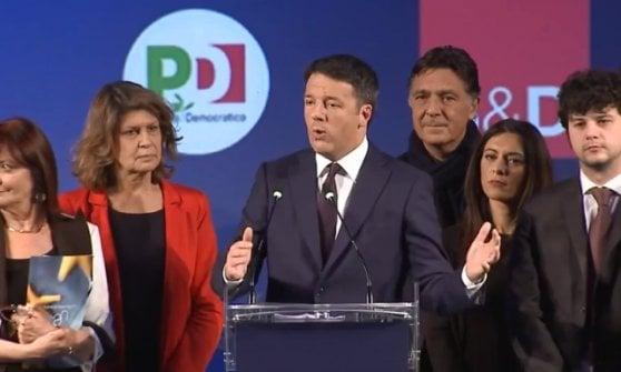 """Ue, Renzi: """"Voto a destra allontana da Europa"""". Gentiloni: """"Progressisti influenzino il destino dell'Unione"""""""