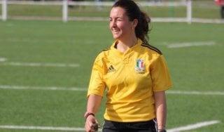 """Rugby, Clara rompe un tabu: """"Io primo arbitro donna tra i big. Il segreto? Una calma zen"""""""