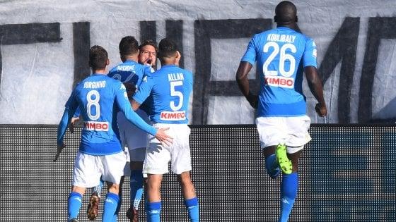 L'Atalanta non passa contro il Napoli: Mertens piega la Dea