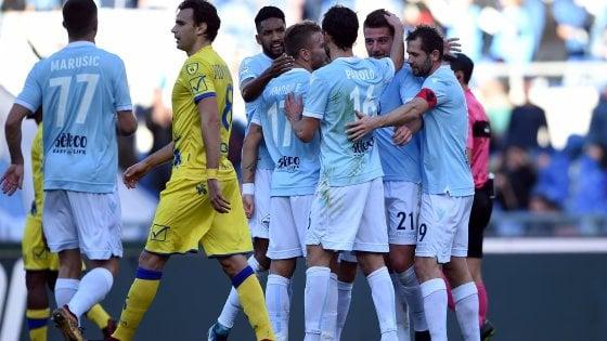 Milinkovic-Savic guida una straordinaria Lazio: contro il Chievo finisce 5-1