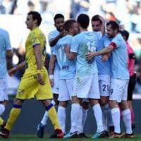 Lazio-Chievo 5-1: Milinkovic show, biancocelesti terzi