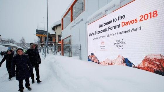 Davos, ai ricchi sempre di più: l'1% di Paperoni ha come il restante 99%