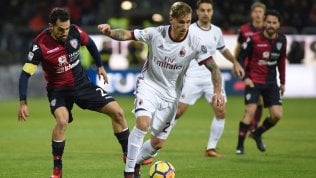 Torna la serie A.Napoli vola, a Bergamo decide Mertens: 0-1Lazio a valanga sul Chievo, Samp okLive Cagliari-Milan 1-2