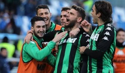Berardi si ritrova, pari Sassuolo Obi gol ma Toro abbonato al pareggio