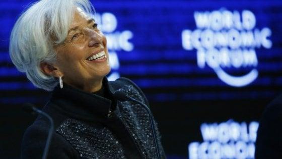 La direttrice del Fmi, Christine Lagarde