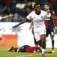 Cagliari-Milan 1-2: Kessie firma la rimonta rossonera