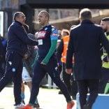 Sarri: ''In campo sempre dopo la Juve, la Lega sbaglia''