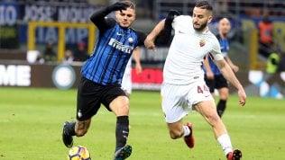 Inter-Roma finisce 1-1Napoli vola, a Bergamo decide Mertens: 0-1Lazio a valanga sul Chievo, Samp okMilan vince a Cagliari