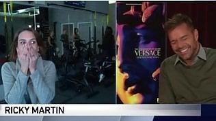 Cronista esulta dopo intervista a Ricky Martin: ma lui è ancora lì