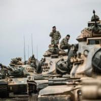 """Siria, offensiva turca contro i curdi siriani. Erdogan: """"Non ci tireremo indietro"""""""