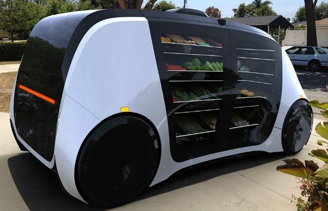 Robomart, il minimarket a guida autonoma e on-demand