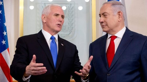 Pence, onore essere a Gerusalemme capitale Israele